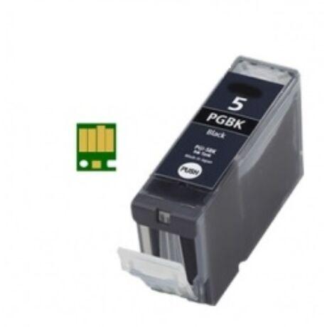 Canon PGI-5BK utángyártott (CHIP) tintapatron