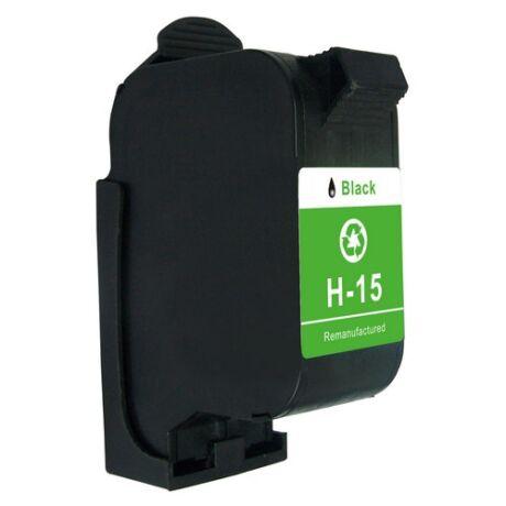 HP 15 Bk (C6615D) utángyártott tintapatron
