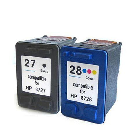HP 27/28 (C8727A/C9352C) utángyártott (fekete-színes) tintapatron csomag