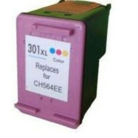 HP 301XL CMY (CH564EE) utángyártott tintapatron