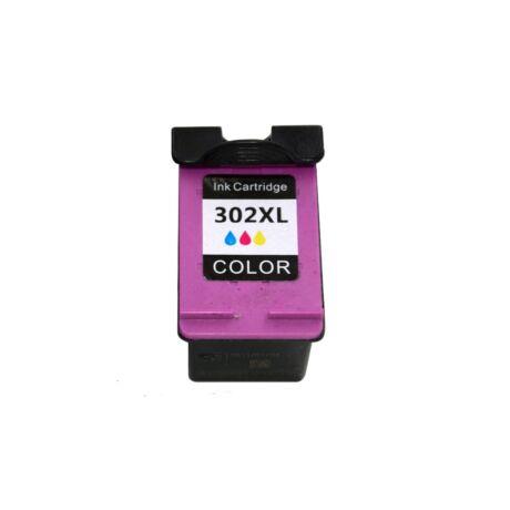 HP 302 XL (F6U67AE) (CMY) kompatibilis tintapatron