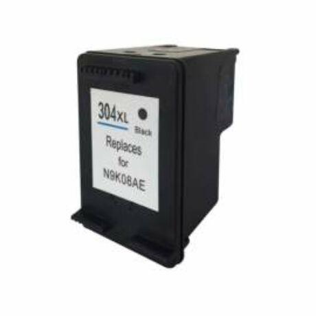 HP 304XL (BK) (N9K08AE) Kompatibilis tintapatron