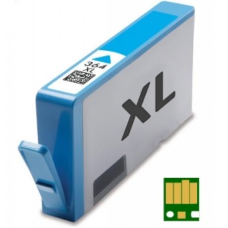 HP 364XL C (CB323EE) chippes utángyártott tintapatron