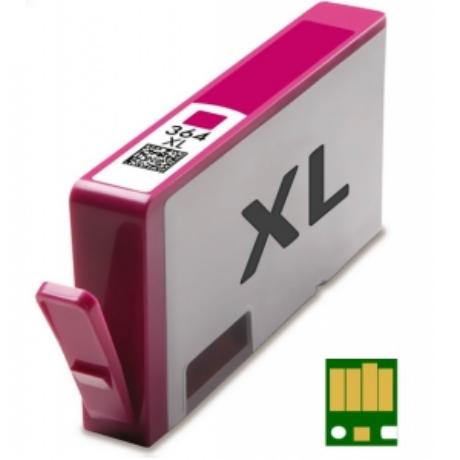 HP 364XL M (CB324EE) chippes utángyártott tintapatron