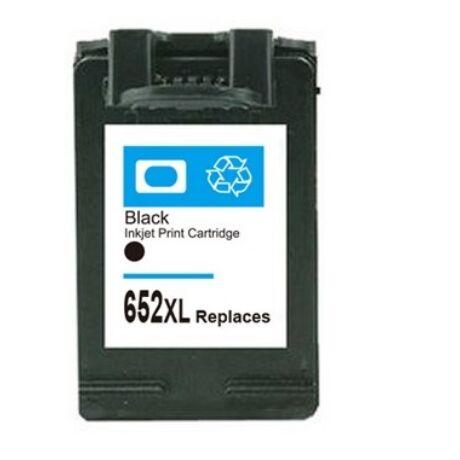 HP 652XL Bk (F6V25AE) Kompatibilis tintapatron