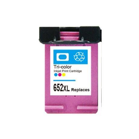 HP 652XL CMY (F6V24AE) Kompatibilis tintapatron