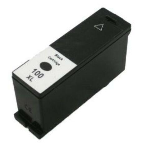 Lexmark 100 XL (BK) (14N1068) utángyártott tintapatron