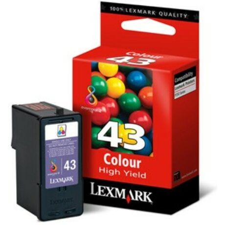 Lexmark 43 XL (18Y0143E) eredeti tintapatron