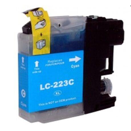 Brother LC223 (C) utángyártott tintapatron