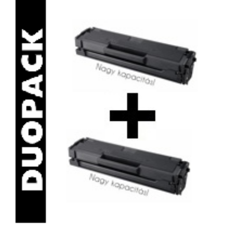 Samsung MLT-D111L [2x2k] kompatibilis (100% új) toner [2db] Dupla Pakk
