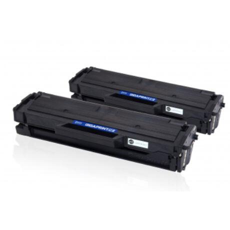 Samsung MLT-D111S [2x1k] kompatibilis (100% új) toner [2db] Dupla Pakk